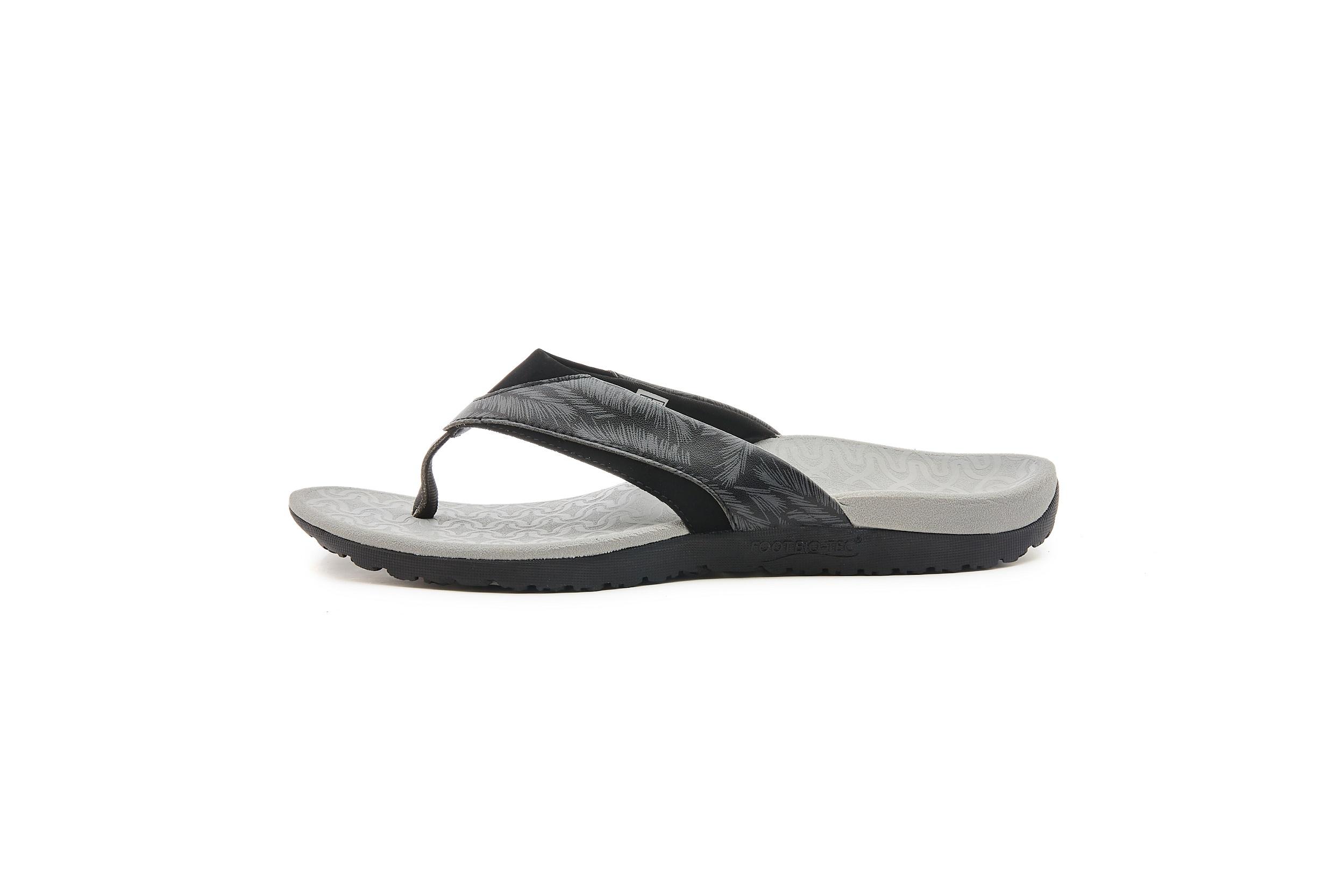 FOOT BIO-TEC Orthotic Footwear——Sam All Black — Adjustable Sale 15/% off